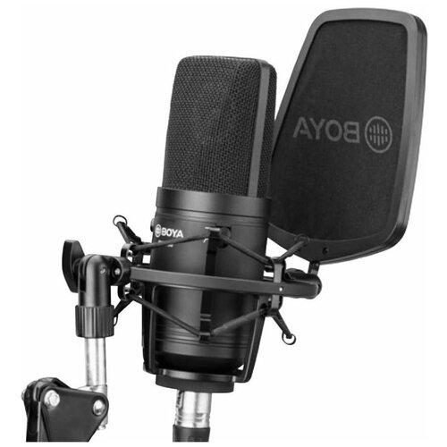 Кардиоидный конденсаторный микрофон BY-M800 (Студийный)