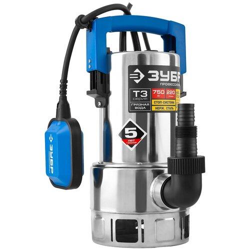 Фото - Дренажный насос для чистой воды ЗУБР НПГ-Т3-750-С (750 Вт) дренажный насос для чистой воды зубр нпч т3 550 550 вт