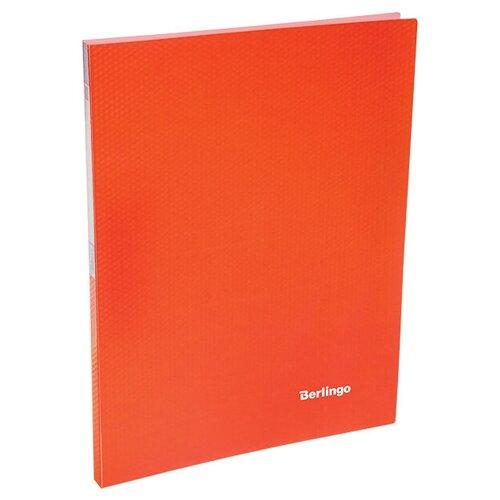 Фото - Berlingo Папка с 20 вкладышами Neon A4, 14 мм, 700 мкм, пластик оранжевый berlingo папка с 20 вкладышами neon a4 14 мм 700 мкм пластик зеленый