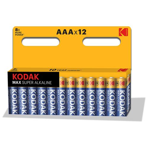 Фото - Элемент питания KODAK MAX LR03 BL12 (K3A-12) 12 шт элемент питания navigator 94 750 nbt ne lr03 bp2
