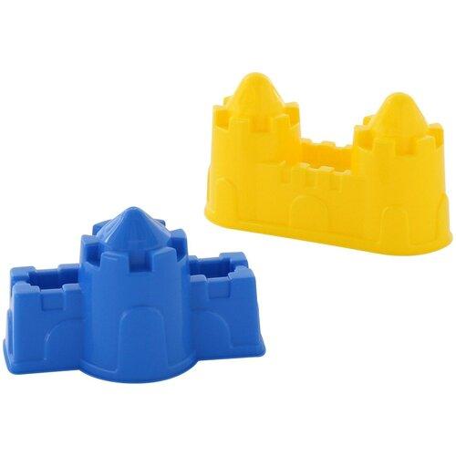 Набор Полесье замок стена с одной башней + замок стена с двумя башнями 57495