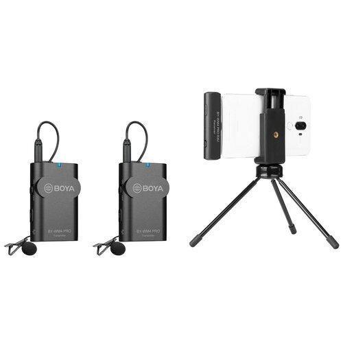Двойной беспроводной микрофон Boya BY-WM4 PRO-K6 для устройств с разъемом USB Type-C
