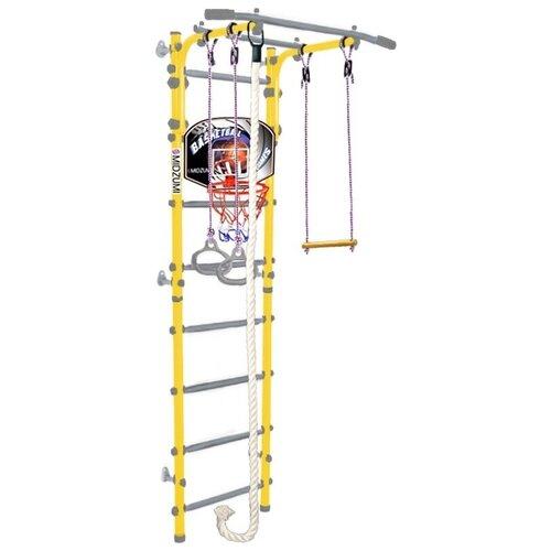 Купить Спортивно-игровой комплекс Midzumi Hoshi Kabe Basketball Shield, лимонный пай, Игровые и спортивные комплексы и горки