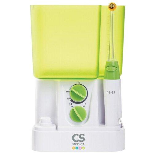 Ирригатор CS Medica KIDS CS-32 белый/зеленый