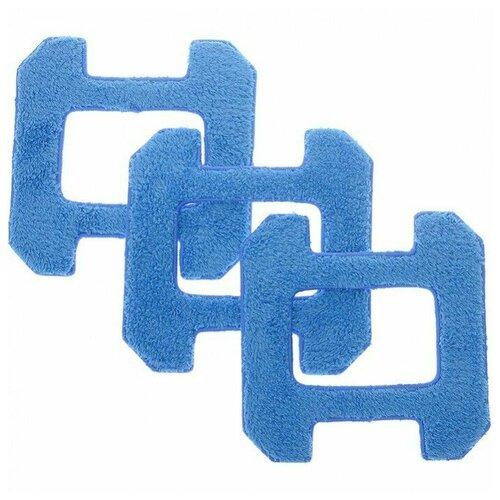 Чистящие салфетки для Hobot 268 288 298 A01 (синие) 3 штуки