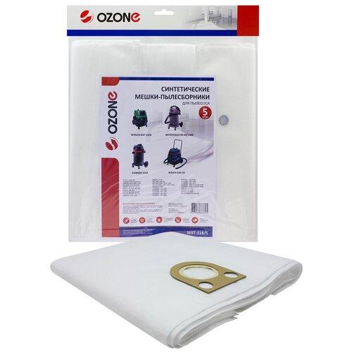 Мешки-пылесборники Ozone синтетические 5 шт для пылесоса STARMIX GS L-1455 PZ KFG