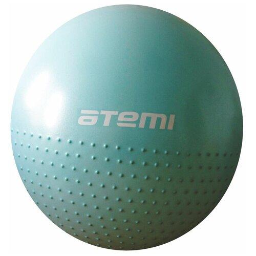 Фитбол ATEMI AGB-05-65, 65 см голубой фитбол indigo in001 65 см