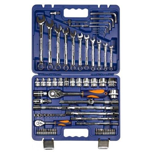 Фото - Набор автомобильных инструментов Helfer HF000015, 77 предм. набор автомобильных инструментов союз 1048 10 s58c 58 предм синий