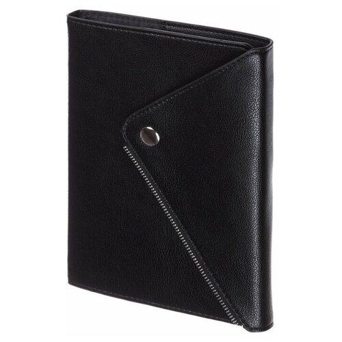 Купить Ежедневник InFolio Grunge недатированный, искусственная кожа, А5, 160 листов, черный, Ежедневники