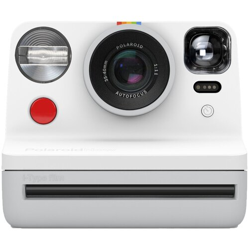 Фото - Фотоаппарат моментальной печати Polaroid Now I-Type Instant Camera, белая фотоаппарат моментальной печати canon zoemini s розовое золото