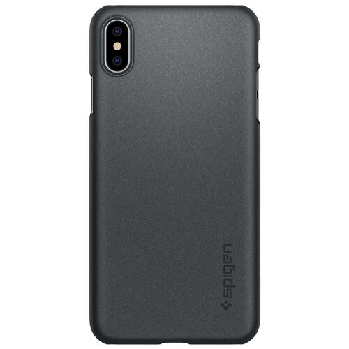 Чехол-накладка Spigen Thin Fit (065CS2) для Apple iPhone Xs Max graphite gray
