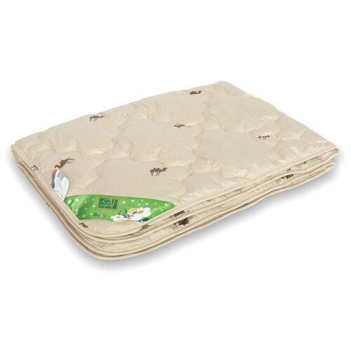 Одеяло для детей Верблюжонок легкое ОВШ-Д-О-10 (кремовый); Альвитек; Размер: ясли 110 х 140