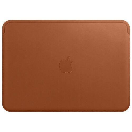 Чехол Apple Leather Sleeve for MacBook 12 Saddle Brown чехол apple leather sleeve for macbook pro 16 mwv92zm a saddle brown