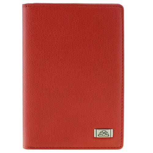 Обложка для паспорта и Tony Perotti Contatto, женская, натуральная кожа, красный