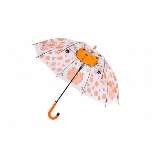 Зонт прозрачный тигр Bradex
