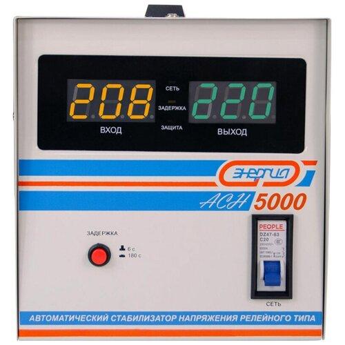 Стабилизатор напряжения энергия АСН-5000 (4000Вт, клеммы/клеммы)