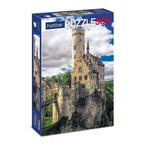 Пазл Hatber Premium Замок в горах 500 элементов, 330х480мм 500ПЗ2-05500