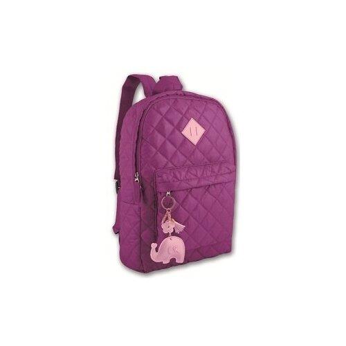 Фото - Рюкзак молодежный Фиолетовый, 39x28x9 см рюкзак brauberg friendly молодежный горчично фиолетовый 37х26х13 см 270093