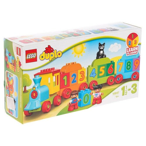 Lego Конструктор Lego DUPLO «Поезд. Считай и играй», 23 детали