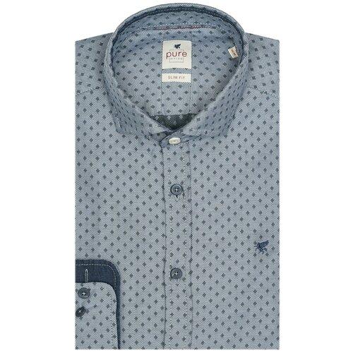 Рубашка pure размер XL голубой