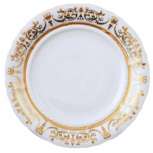 Набор тарелок 25 см 6 шт Leander Соната /Золотая элегантность / 119277 набор салатников соната золотая элегантность 16 см 6 шт 07161413 1373 leander