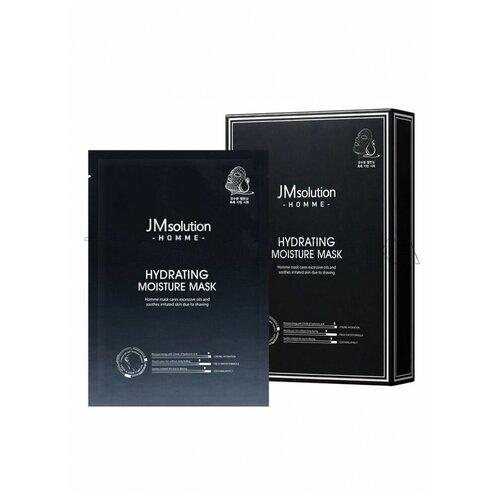 Фото - JMSOLUTION Увлажняющая маска для мужчин. Homme hydrating moisture, 30 мл. medius двойная маска увлажняющая moisture focus 25 мл