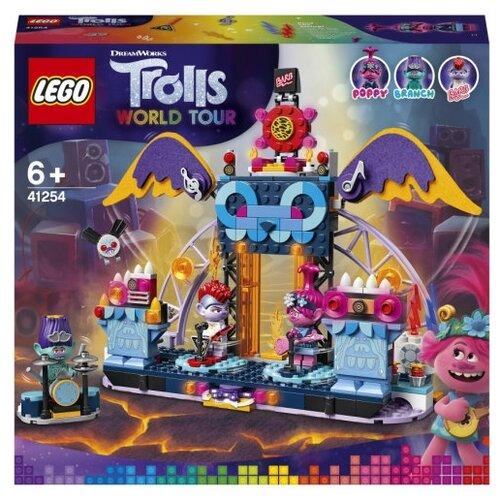 Купить Конструктор LEGO Trolls World Tour 41254 Концерт в городе Рок-на-Вулкане, Конструкторы