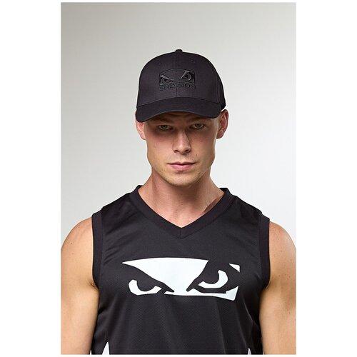 Бейсболка/Кепка Bad Boy 3D Logo черный/черный недорого