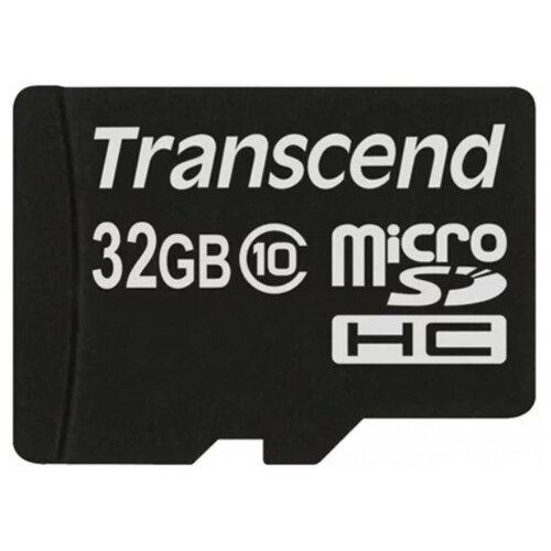 Фото - Карта памяти Transcend microSDHC Premium 200X Class 10 (20/17MB/s) 32GB карта памяти transcend microsdhc 32gb 10class 400x ts32gusdcu1