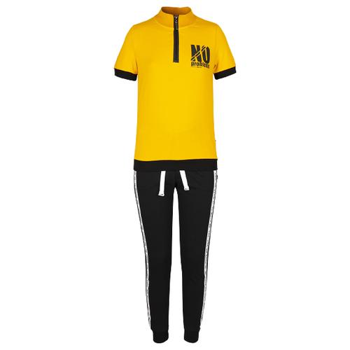 Спортивный костюм Nota Bene размер 158, желтый/черный