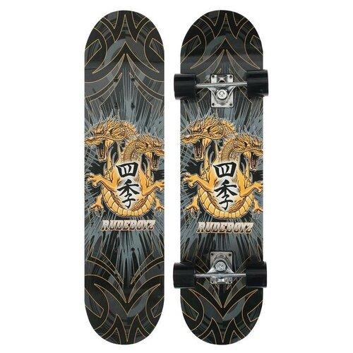 ONLITOP Скейтборд с ярким рисунком на деке, алюминиевая рама, колёса PU 60х45 мм