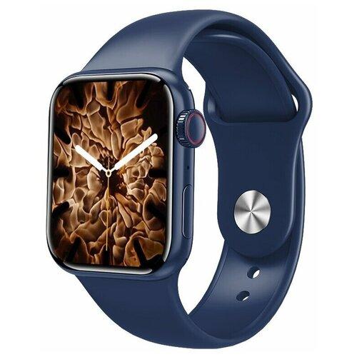 Умные часы IWO HW22 PRO MAX Series 6, синие