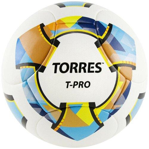 Мяч футбольный TORRES T-Pro, р.5, арт.F320995 мяч torres t pro футбольный арт f320995 размер 5
