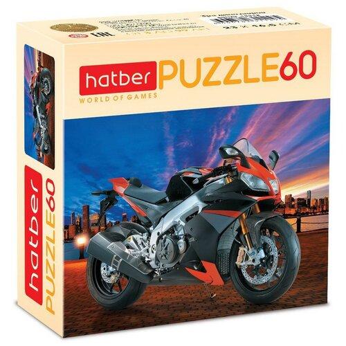 Пазл Hatber MotorBike 60 элементов, 165х230мм