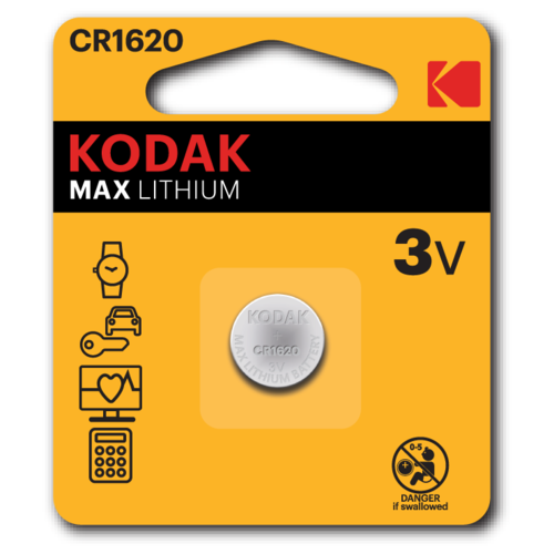 Kodak Батарейка Kodak CR1620-1BL