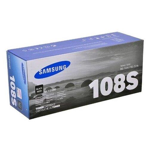 Фото - Картридж лазерный SAMSUNG MLT-D108S черный (1500ст картридж лазерный samsung clt y506s желтый 1500ст