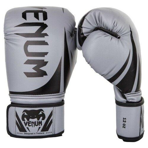 Перчатки боксерские Venum Challenger 2.0 Grey/Black 14 унций