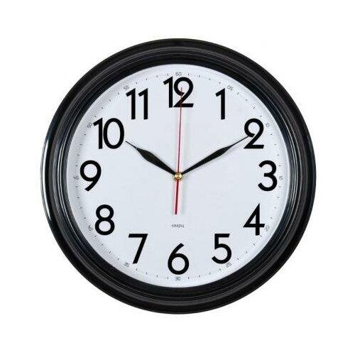 Бюрократ Часы настенные Бюрократ WALLC-R86P белый чёрный