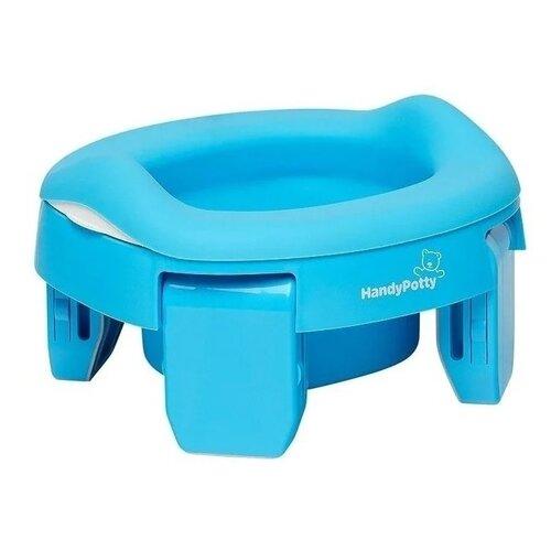 ROXY-KIDS горшок дорожный HandyPotty HP-255 голубой