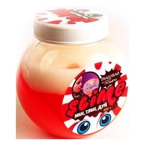 Лизун Slime Mega Mix (Розовый + Белый)