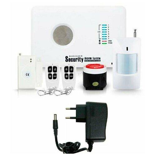 Беспроводная охранная GSM сигнализация Страж Универсал для дома квартиры дачи коттеджа гаража