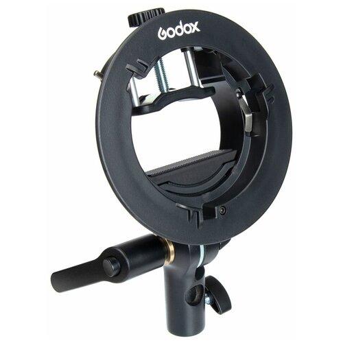 Фото - Держатель вспышки Godox S2 с байонетом Bowens крепление для вспышки на стойку godox e