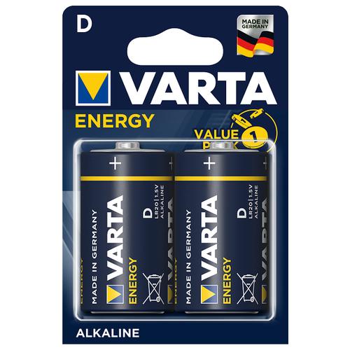 Фото - Батарейка VARTA ENERGY D/LR20 бл 2 батарейка varta energy d lr20 бл 2