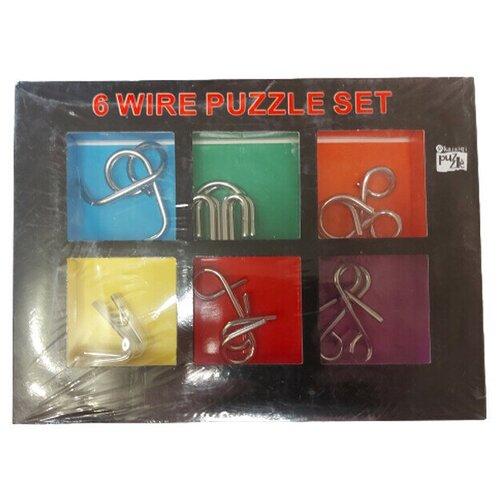6 Metal Puzzles SET (головоломки металлические)