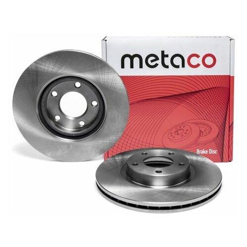 Диск тормозной передний вентилируемый (Производитель: METACO 3050062)