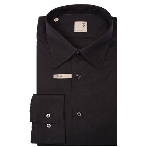 Рубашка Seidensticker размер 39 черный