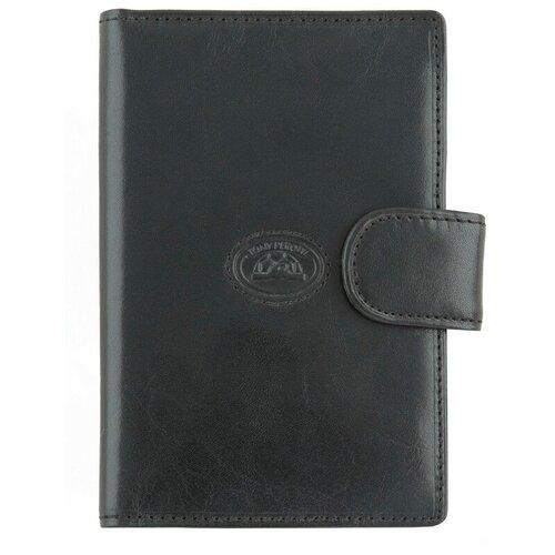 Обложка для паспорта и Tony Perotti Italico - Tuscania, мужская, натуральная кожа, чёрный