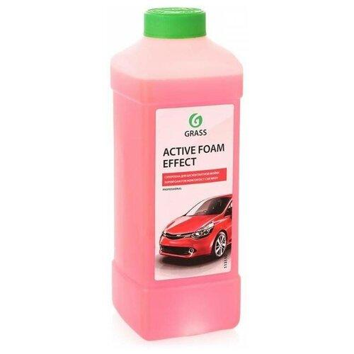 Автошампунь для бесконтактной мойки суперконцентрат GRASS Active foam effect 1л автошампунь grass active foam effect 6 кг