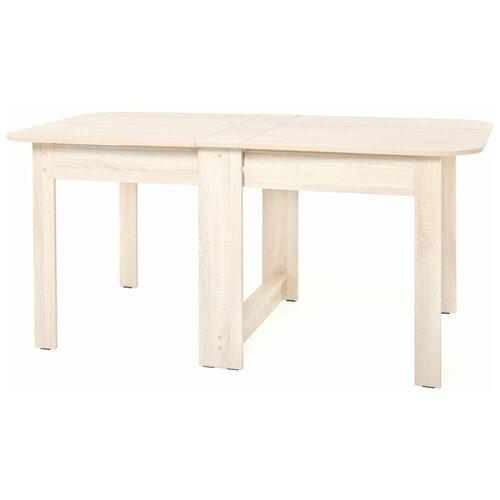 Стол обеденный раскладной Вятка 870х182х780 Дуб сонома