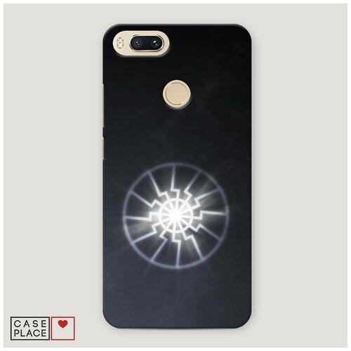 Чехол Пластиковый Xiaomi Mi 5X Черное солнце